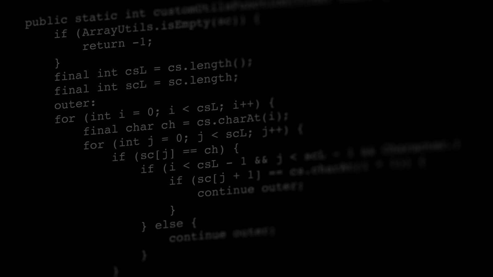 How many lines of code would you need?